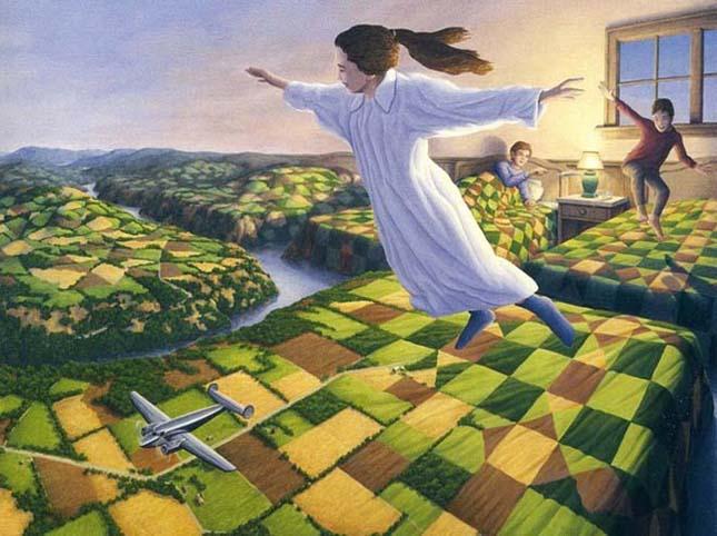 Rob Gonsalves varázslatos realizmusa