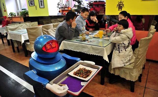 Robot étterem, Kína