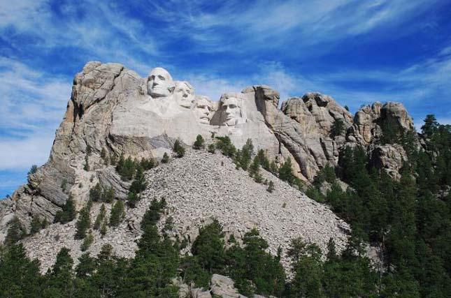 Rushmore-hegy elnökei