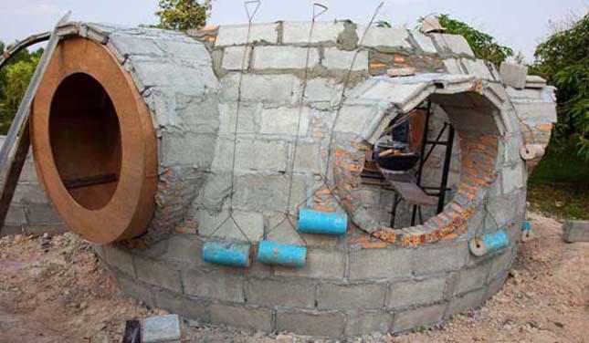 Saját készítésű ház