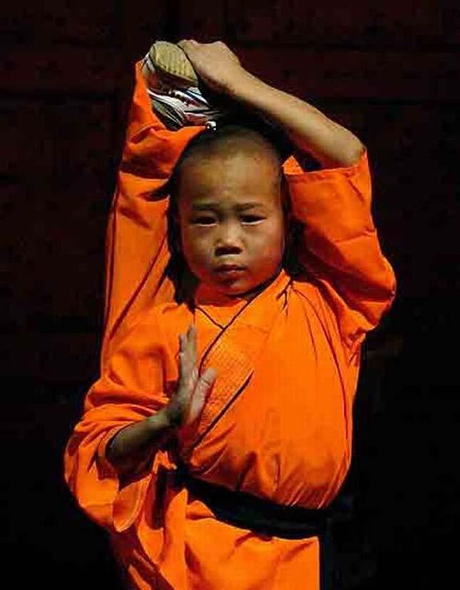 Shaolin szerzetesek