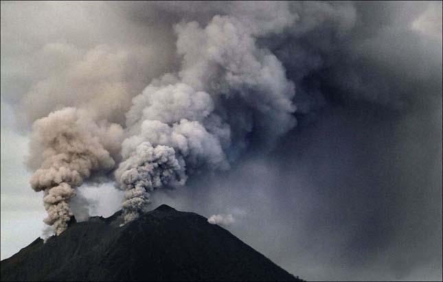 Sinabung vulkán