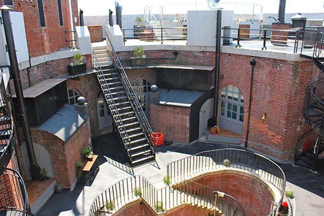 Spitbank Fort, erődből szálloda