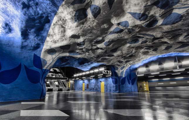 Stockholmi metróállomások