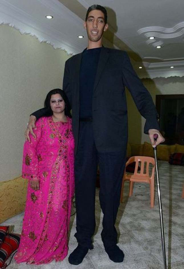 Sultan Kösen, a világ legmagasabb embere