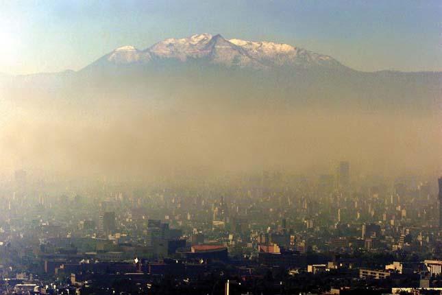 Szennyezett városok - Mexikóváros
