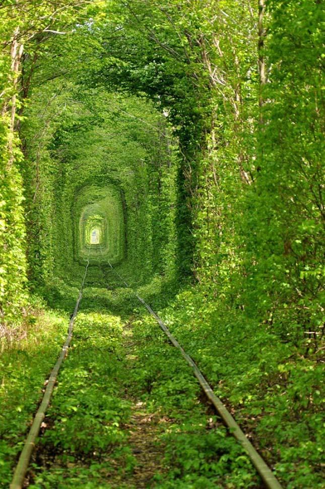 Szerelem-alagútja, Ukrajna