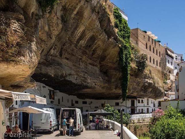 A sziklákba épített város – Setenil de Las Bodegas