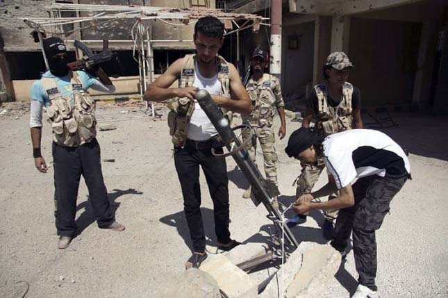Szír lázadók fegyverei