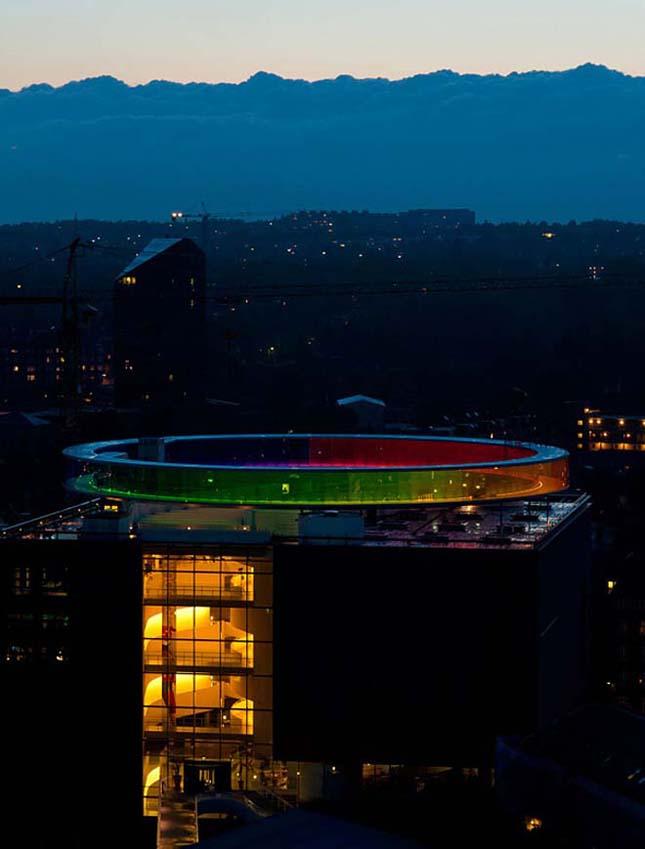 Szivárvány Panoráma, színpompás panoráma építmény Dániában