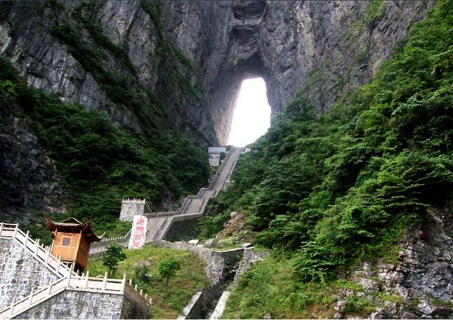 Tianmenshan-hegy