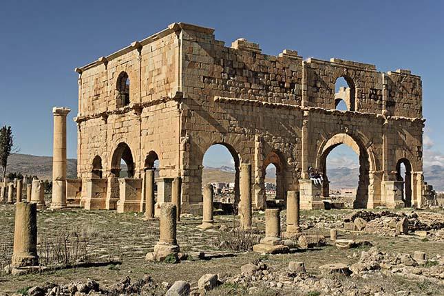 Timgád romváros