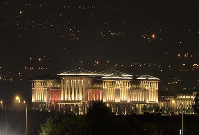 A török elnök palotája