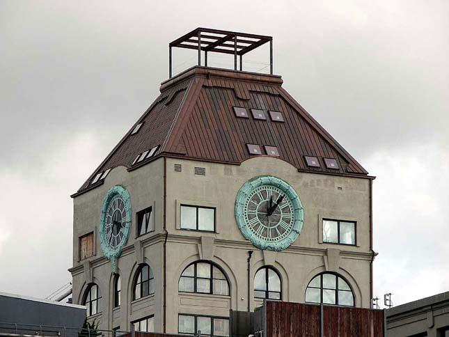 Lakás a toronyórában