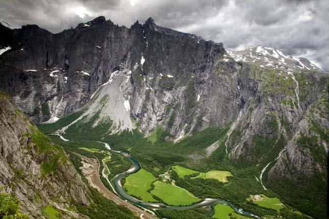 Trollveggen, Norvégia
