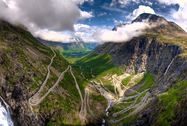 Trollok útja, Norvégia