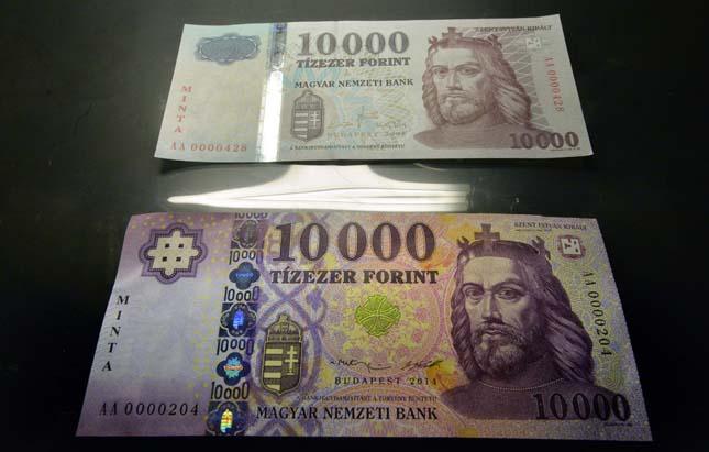Új bankjegyek