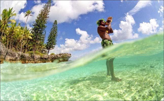 Új-kaledóniai halászat