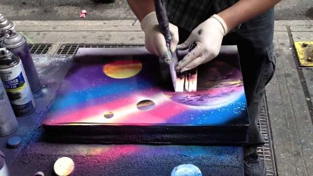 Hihetetlen utcai művészet