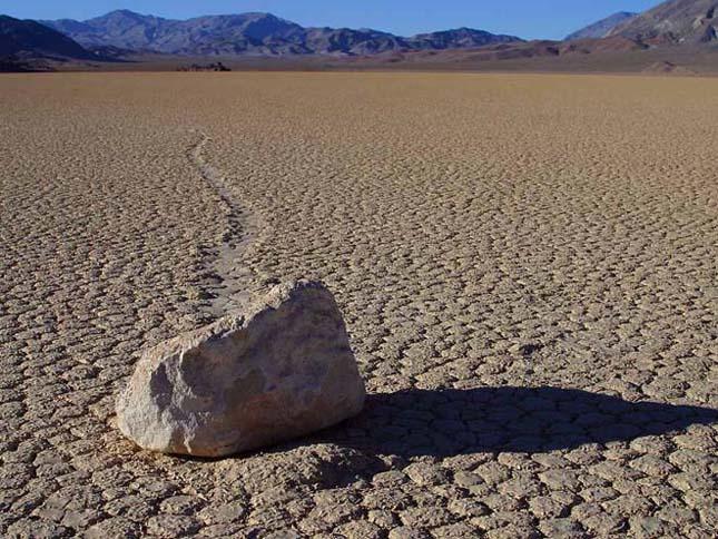 Vándorló kövek - Death valley