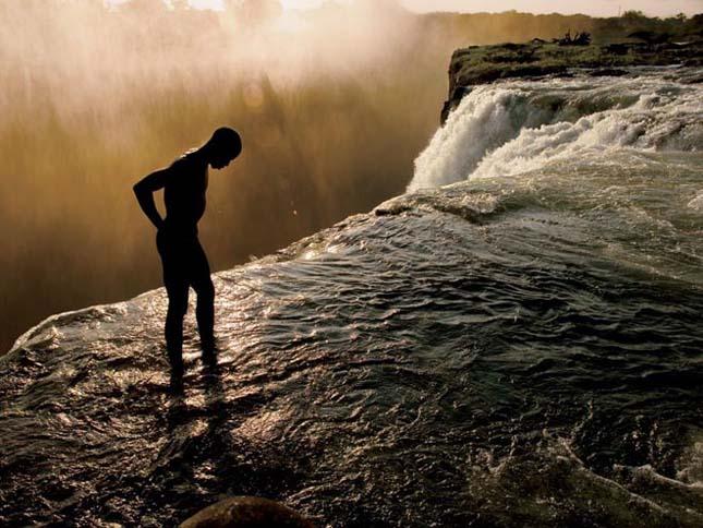 Viktória vízesés