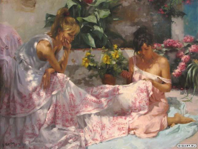 Vicente Romero Redondo festményei