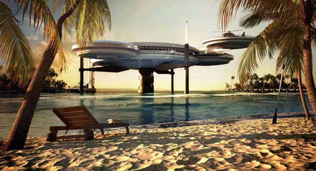 Víz alatti szálloda épül Dubaiban