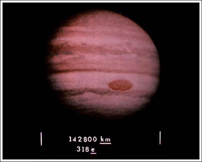 A Voyager-1 űrszonda által vitt fotó
