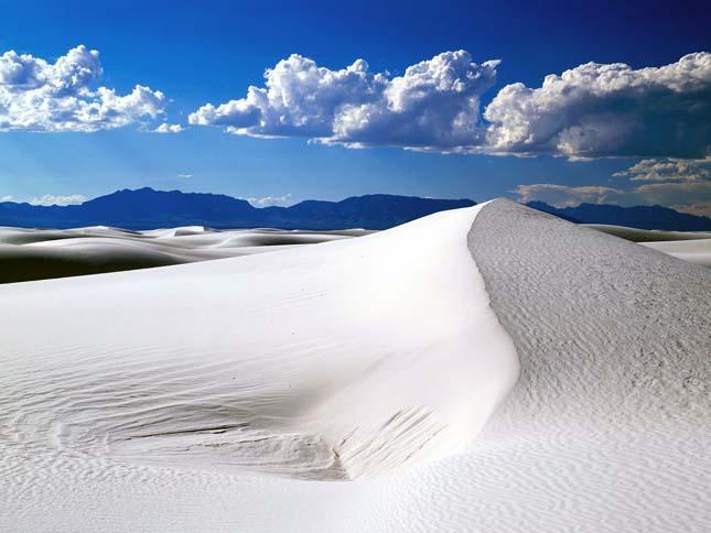 Fehér sivatag, Új-Mexikó
