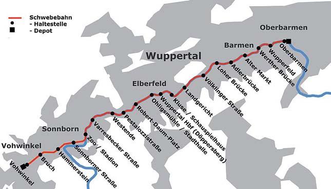 Wuppertal függővasút
