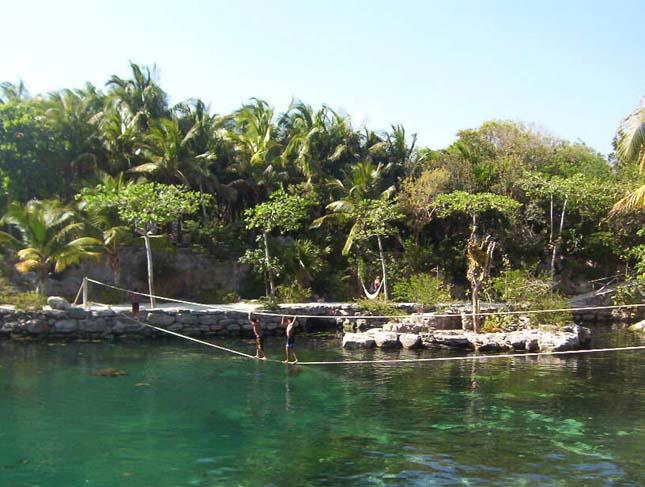 Xcaret Ökológiai Park, Mexikó