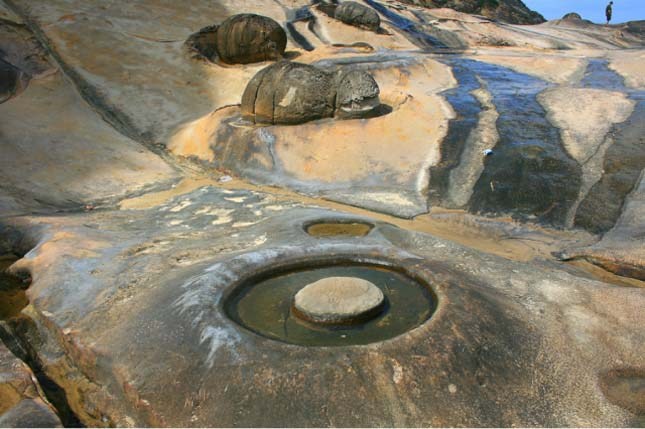 Yehliu Geopark, Tajvan