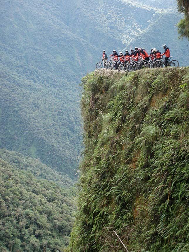 El Camino de la Muerte - halálút Bolíviában