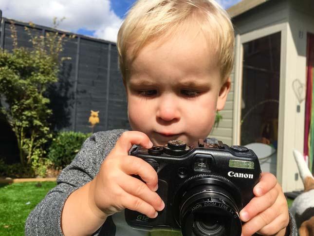19 hónapos fotós