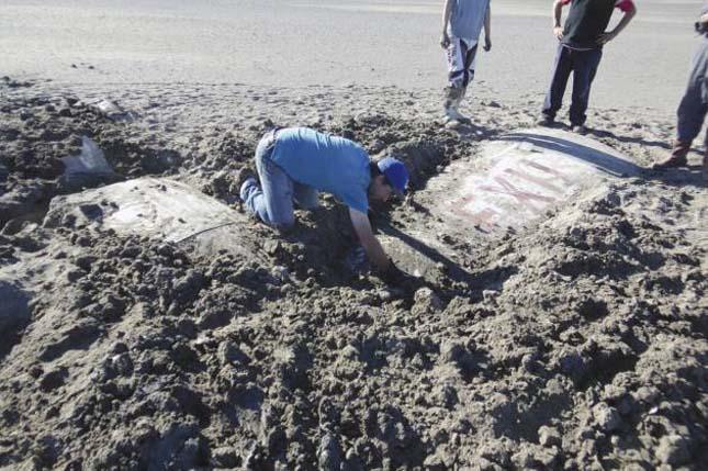 50 év után került elő egy lezuhant kisrepülő