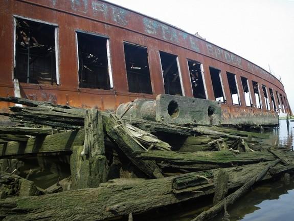 Arthur Kill hajótemető, Staten Island