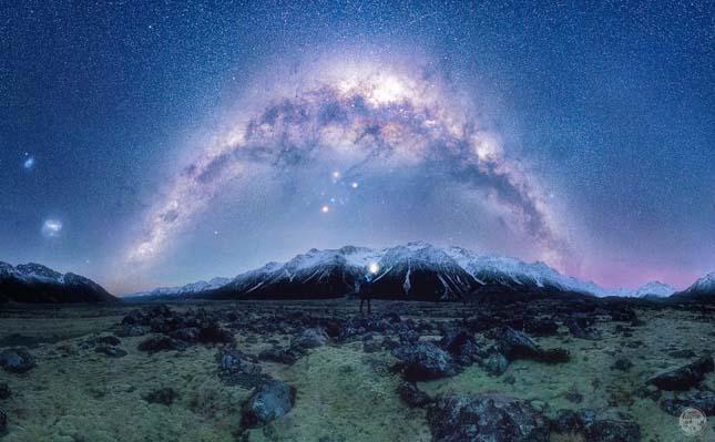 Éjjeli égbolt csodája