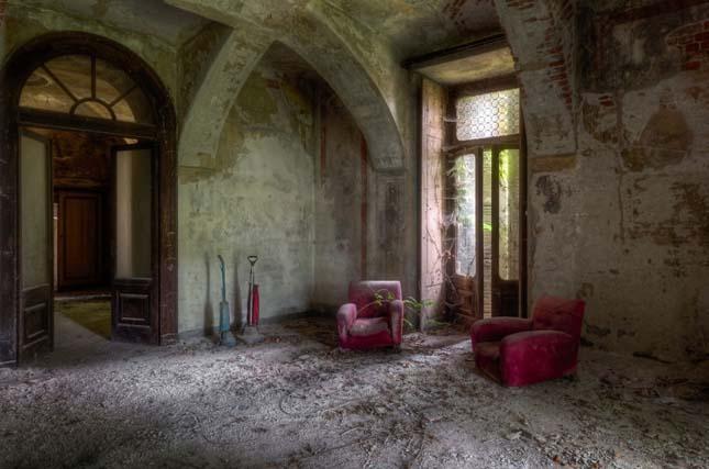 Elhagyatott házak és kastélyok