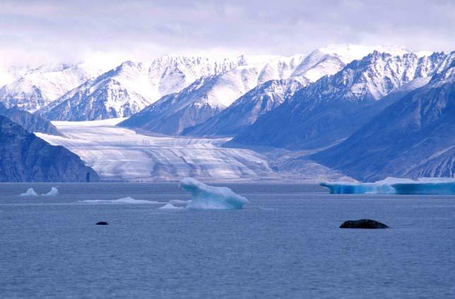 Északi sark és környéke