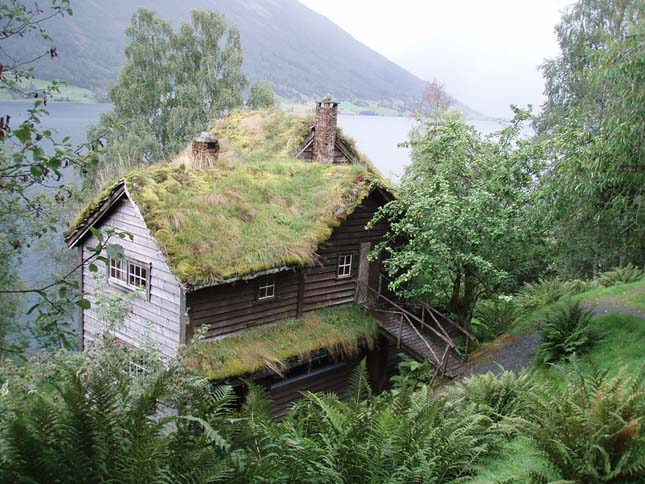 Gyeptetős házak
