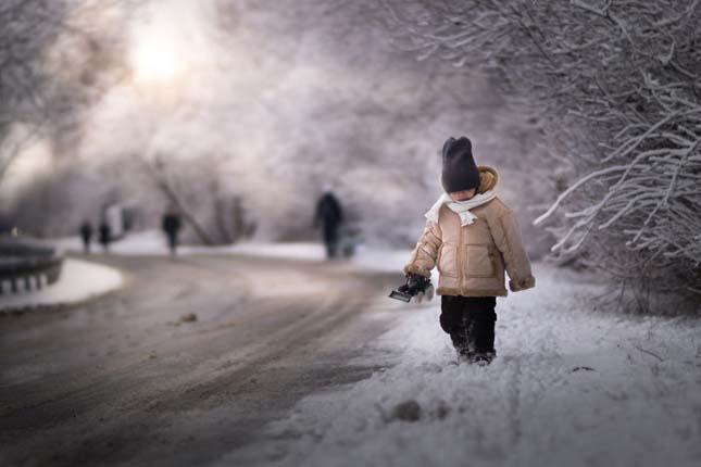 Tél a gyermekek szemével