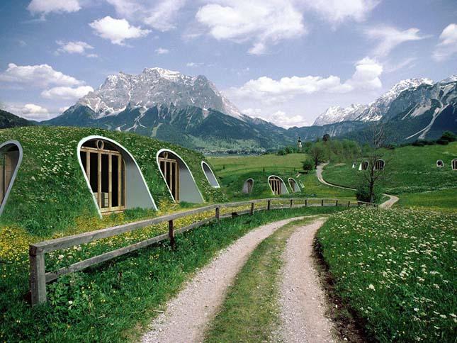 Hobbitházak