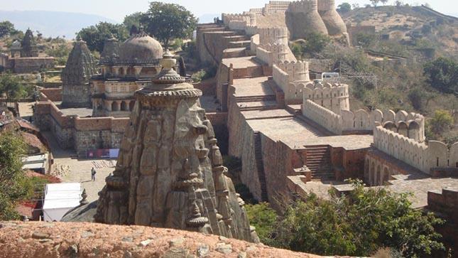 Kumbhalgarh erőd és az Indiai nagyfal