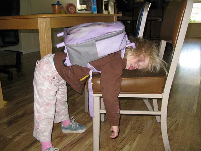 Gyerekek az iskolakezdés napján