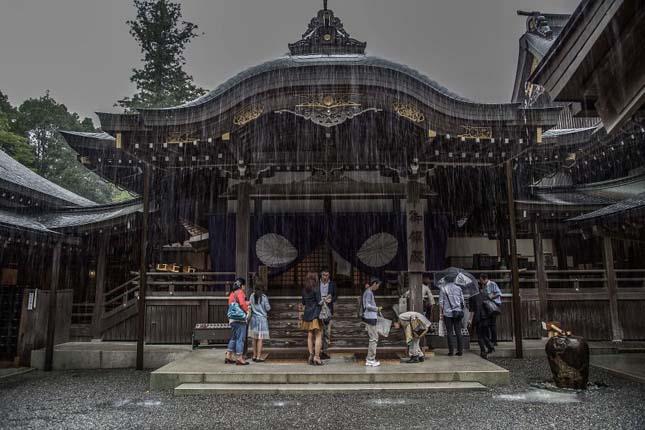 Japán az esős évszakban