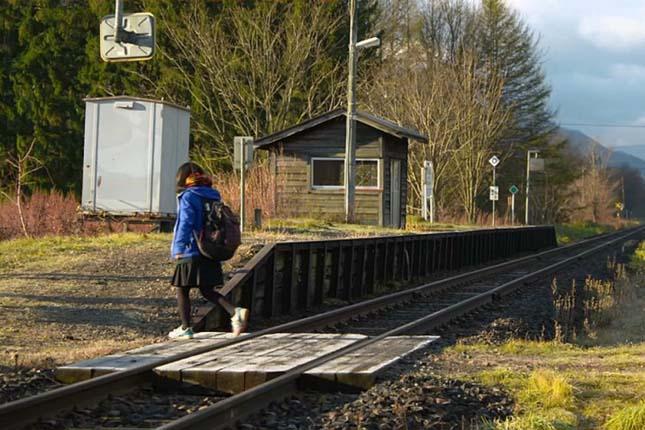 Egyetlen utas miatt nem zártak be egy japán vasútállomást