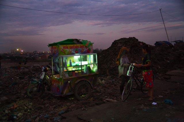 Kambodzsai szeméttelep