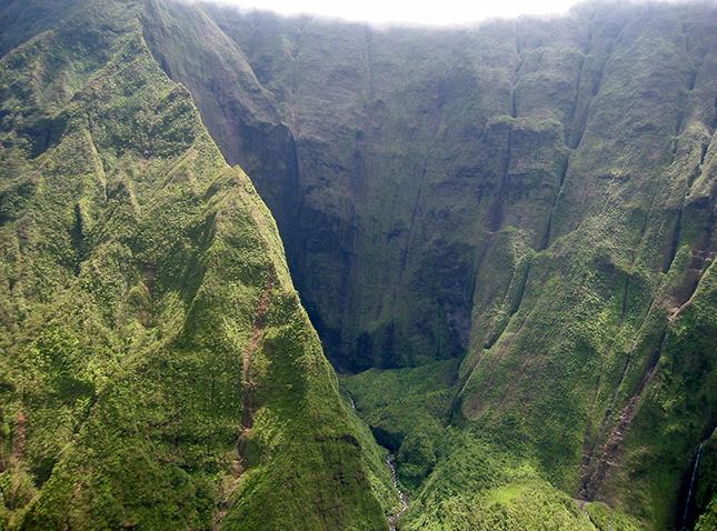 Waialeale-hegy, Kauai sziget, Hawaii