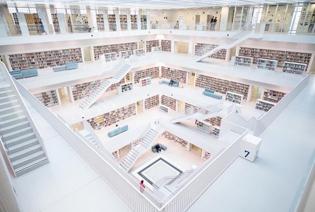 Stuttgarti Városi Könyvtár, Stuttgart