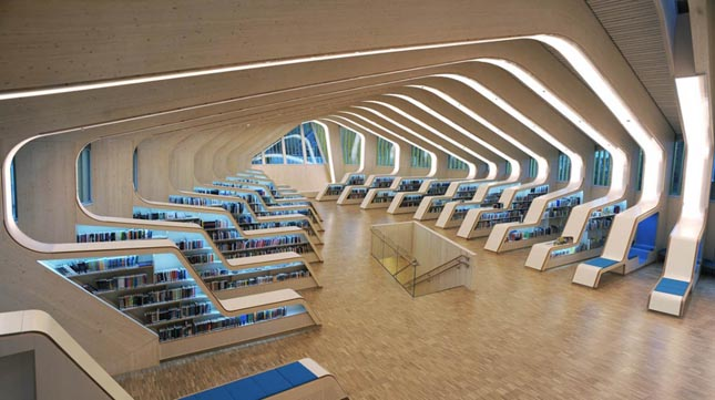 Vennesla Könyvtár, Vennesla, Norvégia